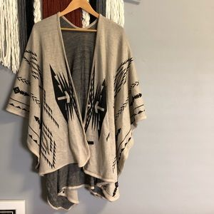 Sweaters - Boutique tribal poncho